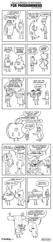 Disfraces de Halloween para Programadores