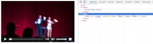 Etiqueta Video sin Shadow DOM
