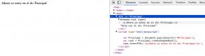 Resultado Shadow DOM código