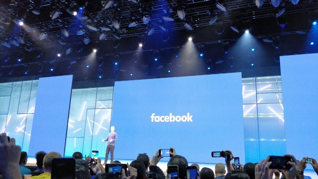 Mark Zuckerberg en el keynote